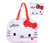 Kawaii Hello Kitty NEW Waterproof Luggage BAG Pouch  Handbag ; Travel Storage Holder BAG Pouch ; Sathel Shoulder BAG Case