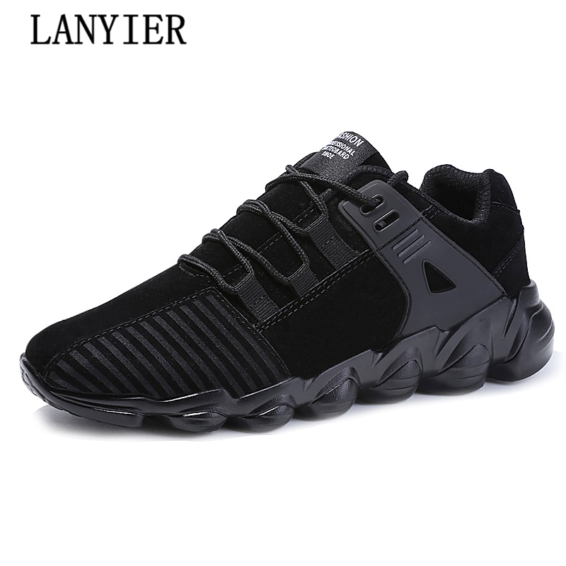 New Casual Shoes Men Autumn Winter suede Shoes Brand Breathable Fashion Male Shoes Comfortable