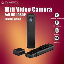 C11 Mini Camera Full HD 1080P Body Camera Wifi H.264 Pen Camera Portable Night Vision Video Voice Recorder Mini DV DVR Camera
