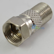 High QualityF-Type F Coax Plug Male to F F-type Coaxial Jack Female Cable Connecter Adapter