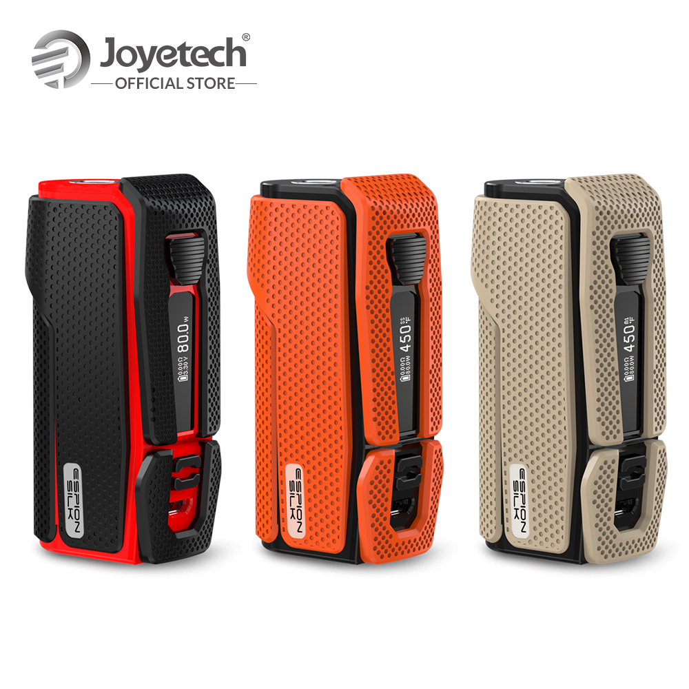 100% Original Joyetech Espion Silk Battery With 2800mAh Built in Battery 0.69 inch OLED 80W Output Electronic Cigarette