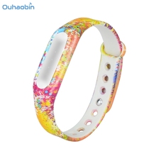 Buy Ouhaobin New Fashion Camouflage Pattern Strap WristBand Bracelet Replacement Xiaomi MI Band 1S Wrist Straps Oct26 for $1.97 in AliExpress store