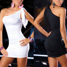 2016 newest NEW Women Sexy Lingerie Nightwear Clubwear Sleepwear Black WHite Dress G-string