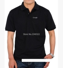 Summer it fans Search Google polo shirts men's short-sleeved cotton polos(China)