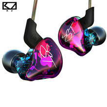2016 Newest KZ ZST Balanced Armature With Dynamic In-ear Earphone BA Driver Noise Cancelling Headset With Mic Replacement Cable