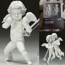 Angel Statues figuers Figma SP-076  The Table Museum Action Figure Cupido Collection boxed Model Toy Gifts PVC 10CM T7029