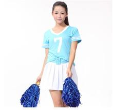 2017 summer Euro cup Fantasy Football Costume soccer baby football girl sexy shorts cheerleaders team sets sports suit