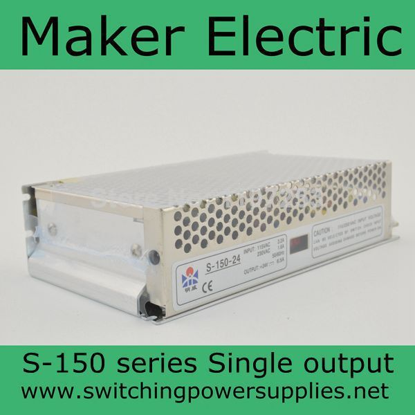 reliable switching power supply  for LED Strip light S-150-13.5<br>