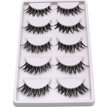 30Pairs Fake Lashes Soft Natural False Eyelashes Extension Makeup Tool Volume Crisscross Long False Eye Lashes Tools Maquiagem(China)