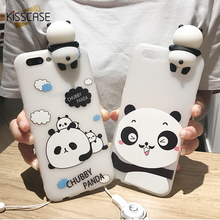 Buy KISSCASE Lovely Toy Panda Cases iphone 7 8 Plus Cover Soft Silicone Floral Protect Cover iphone 6 6s Plus Phone Cases for $2.41 in AliExpress store