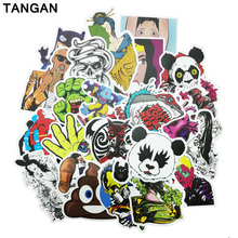 50pcs Cool Stickers on Motorcycle Suitcase Home Decor Laptop Covers DIY Decal Bomb In the Car Sticker styling bicycle