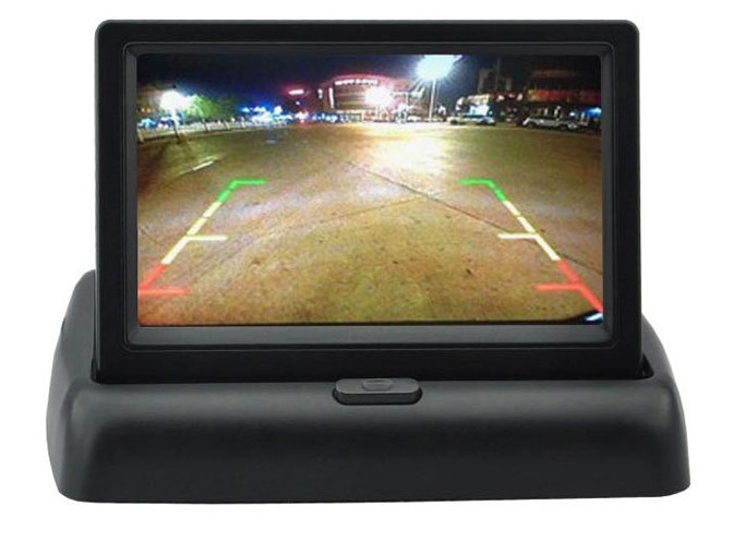 4.3 Inch Color TFT LCD Rear view Monitor 4.3 Parking Rearview Monitor with 2CH Video Input Reverse CCTV  Monitor<br><br>Aliexpress