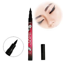 New Cheapest Waterproof Black Liquid Eyeliner Pen Make Up Beauty Eye Liner Pencil Cosmetics Lipstick Eyebrow(China)