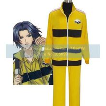 Prince Of Tennis Rikkai Junior High School Yellow Uniform Cosplay Costume