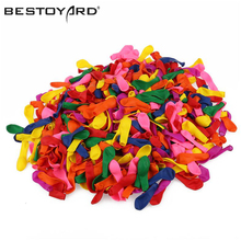 BESTOYARD 500pcs Air Balls Inflatable Wedding Decoration Birthday Kid Party Float Balloons Classic Toys Latex Water Balloons(China)