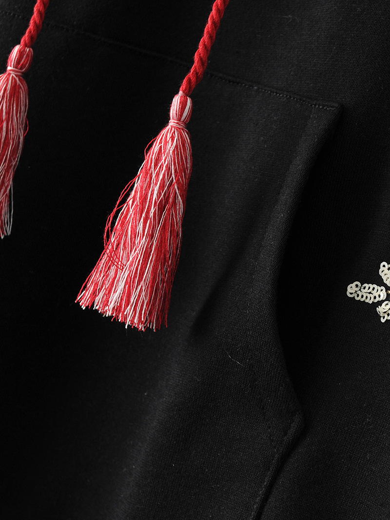 ShejoinSheenjoy Hooded Long Sleeve Loose Hoodies Women Fashion Black Vintage Floral Geometric Embroidery Sweatshirt Pullovers (16)