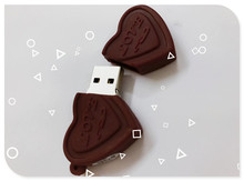 Usb Stick New Arrival Chocolate heart USB Flash Drive 4gb 8gb 16gb 32gb Usb disk USB 2.0 pen drive Memory Stick pendrive U Disk