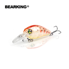 Retail 2017 good fishing lures minnow,quality professional baits 3.5cm/3.7g,bearking hot model crankbaits penceil bait popper(China)