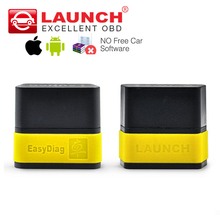 LAUNCH X431 EasyDiag 100% Original For Android/iOS 2 in 1 Diagnostic Tool Easy diag 2.0 Update online better than M-diag elm327(China)