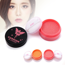 Air Cushion Blush cream With Puff Waterproof Anti Sweat Moisturizing Blusher natural beauty face Blusher A4