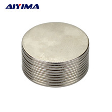 AIYIMA 10pcs 20mm*1mm Round Diameter Magnet 20x1 Rare Earth Neodymium Magnets NdFeB Magneet Neodimio Teaching Magneten 20*1