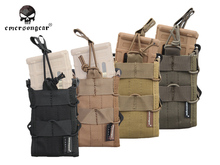 Emersongear Double Modular Rifle Magazine Pouch Emerson Tactical Utility Gear Molle Mag EM6035A Coyote Black