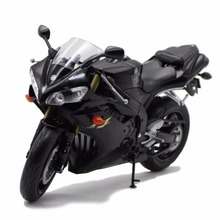 Welly 1:10 2008 Yamaha YZF-R1 Motorcycle Collection Model Black New in Box