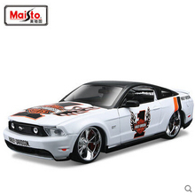 Maisto 1:24 2011 Mustang GT H-Davidson VERSION  Diecasts Collection Scale Car Models