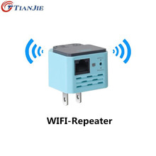 TIANJIE Wi-Fi Repeater Wireless Home Amplifier 802.11N / B / G Signal Extender 300Mbps Signal Strength repetidor WiFi WPS(China)
