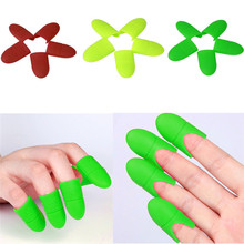 10pcs Silicone gel Nail Soak Off UV Gel Art Polish Remover Wrap Cap Gift Nail Polish Remover Soaker Caps(China)