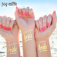 5pcs bride tribe Temporary Tattoo bachelorette party accessories Bridesmaid bridal shower wedding decoration party favor