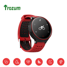 TROZUM X2 Smart Wristband Heart Rate Monitor Bluetooth Bracelet Sports Fitness Tracker Smartband Pulsometro for Iphone7 Android(China)