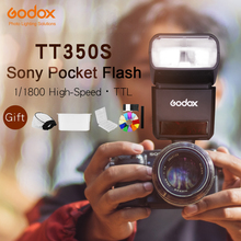 Godox Mini Speedlite TT350S Camera Flash TTL HSS GN36 for Sony Mirrorless DSLR Camera A7 A6000 A6500(China)