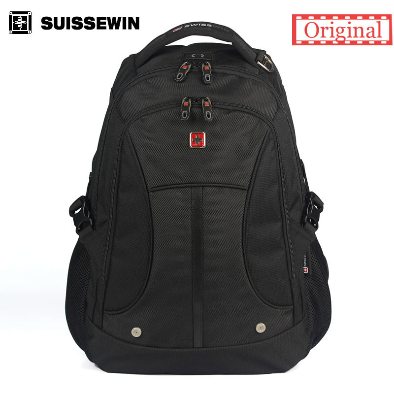 Suissewin men backpack 15.6 inch laptop bag Wenger Swissgear outdoor Large Capacity Backpack travel school bags for teenagers<br>