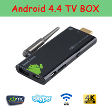 Mini PC HD CX919 Quad core Android TV Box Stick 2GB RAM 16GB ROM 2.4GHz Max Bluetooth Wifi Android TV stick 4K Micro USB