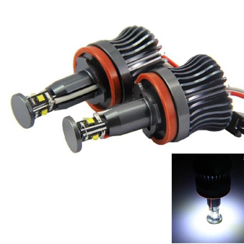 2pcs 360-Degree Xenon White 20W High Power H8 LED Angel Eyes for BMW E60 E61 E90 E92 E70 E71 E82 E89 1 3 5 Series X5 X6 Z4<br><br>Aliexpress