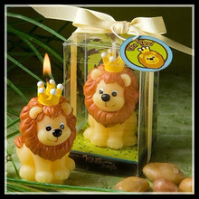 Lion Simba Candle Birthday Party Cake Candle Christmas Decoration Flameless Parties Candle For Home Decoration ElimElim(China)