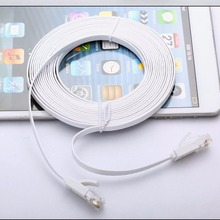 Universal 10M Super Long RJ45 Network Cable Super High Speed Flat Type Ethernet Network Cable LAN Ethernet Cable(China)