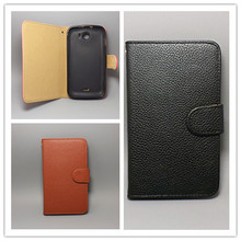 For HTC G13 Wildfire S A510E  Lichi Texture Leather Case Pouch Flip case FreeShipping