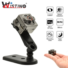 Buy Wistino Mini Camera Full HD 1080P Voice Video Recorder Nanny Motion Sensor DV Digital Small Video Camera Infrared Night Vision for $13.80 in AliExpress store