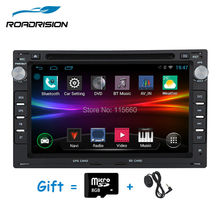 Android 4.4.4 Quad core 2 Din Car GPS Navigation DVD Player for Volkswagen VW PASSAT B5 JETTA BORA TRANSPORTER T5 GOLF 4 SHARAN