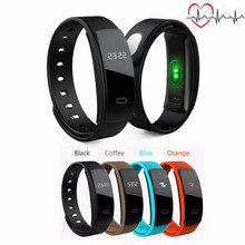 QS80 Heart Rate Monitor Smart Wristband Call Reminder Blood Pressure Measure Pedometer Smart Bracelet Fitness Tracker Smart Band