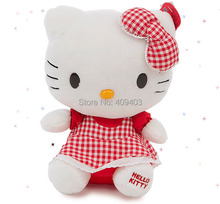 33CM Pastoralism Hello Kitty, Stuffed Animals & Plush Toy Cat, Plush Kitty For Christmas Gift Or Girl's Gift