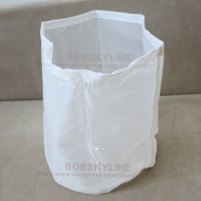2pcs/lot- Diameter 30cm 38cm Cylindrical food grade Filter Bag for Milk Juice Wine Liquid filtering Colanders(China)
