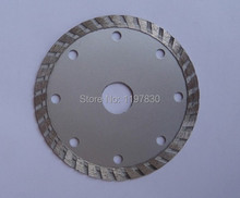 Free shipping of 1PC 105*20*8mm cold press diamond turbo segmented saw blades  for cutting marble/granite/tile/cutting