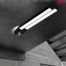 Simple personality office ceiling lamp long strip originality LED modern balcony corridor lighting for bedroom living room