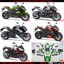 Fit for kawasaki Z1000 2010 2011 2012 2013 Injection Moiding ABS Plastic motorcycle Fairing Kit Bodywork Z1000 10 11 12 13 CB001