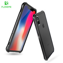 FLOVEME Anti-knock Case for iPhone X , Shockproof Corner Bumper Designed Mobile Phone Cases for iPhone x 10 Cover Accessories(China)