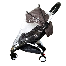 Generic Rain Cover, Weather Shield, Plastic Clear Netting for Babyzen YOYO Stroller(China)