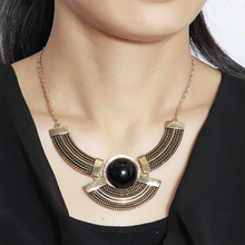 W-AOE 2017 New Vintage Maxi Statement Necklace Necklaces For Women Girl, Fashion India Jewelry Choker Necklace Christmas Gift